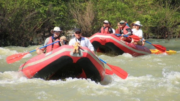 Float the Mulberry River in Arkansas with Byrd's Adventure Center Outfitters