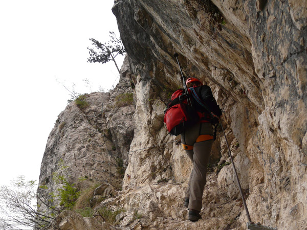 Rock Climb in the Ozark Mountains in Arkansas