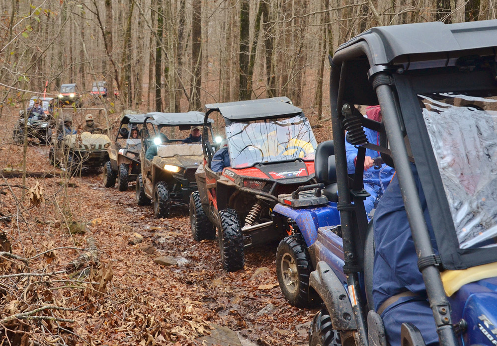 ATV and Side by Side Rally at Byrd's Adventure Center in AR