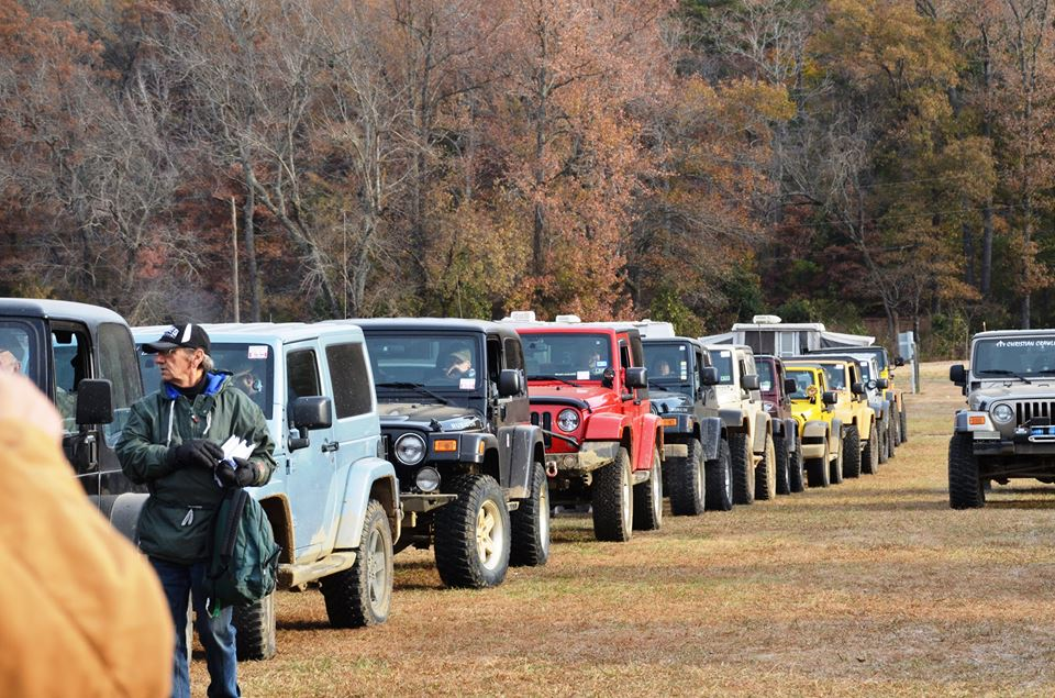 Jeep Jamboree at Byrd's Adventure Center