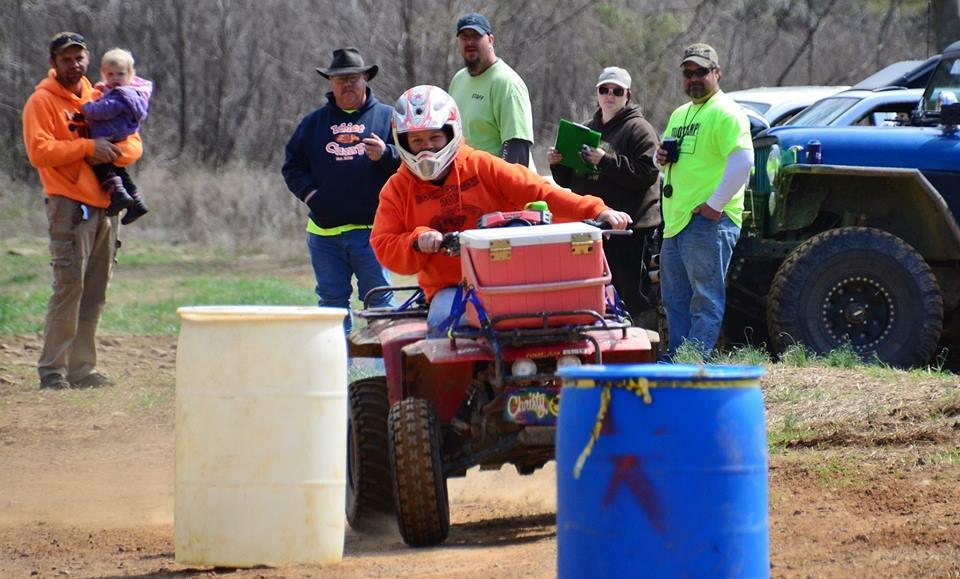 byrds atv ohv barrel race