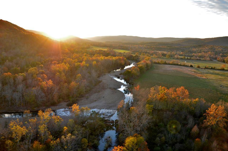 Mulberry River in Arkansas