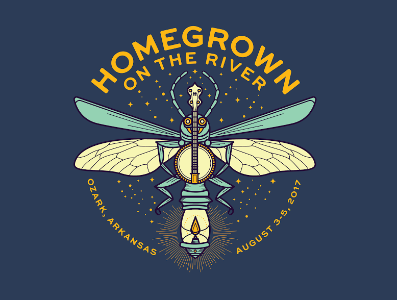 Homegrown on the River Music Festival at Byrd's Adventure Center 2017