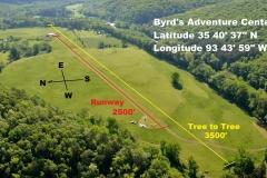 byrds airstrip main runway