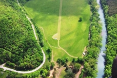 byrds airstrip runway beside mulberry river