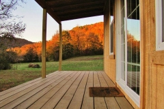 byrds cedar cabin porch
